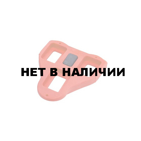 Педали BBB RoadClip red 9 degree (BPD-02A)