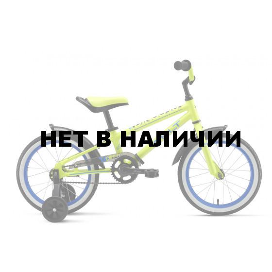 Велосипед Welt 2018 Dingo 16 acid green/blue/black