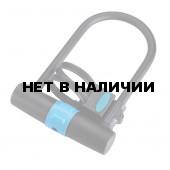 Замок велосипедный BBB U-vault 250mm x 170mm PLUS BRACKET ключевой (BBL-28)