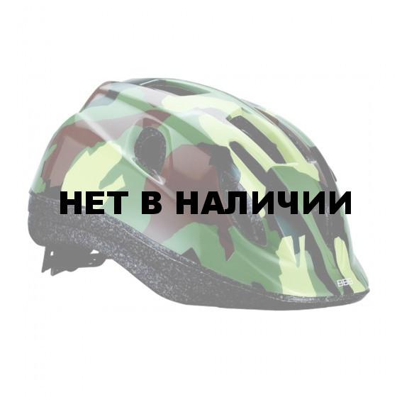 Летний шлем BBB Boogy камуфляж зеленый (BHE-37)