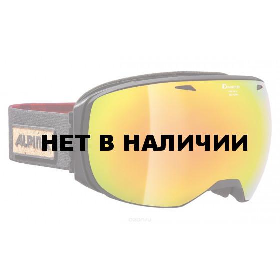 Очки горнолыжные Alpina GRANBY MM black/black-red (Lumberjack ) (б/р:ONE SIZE)