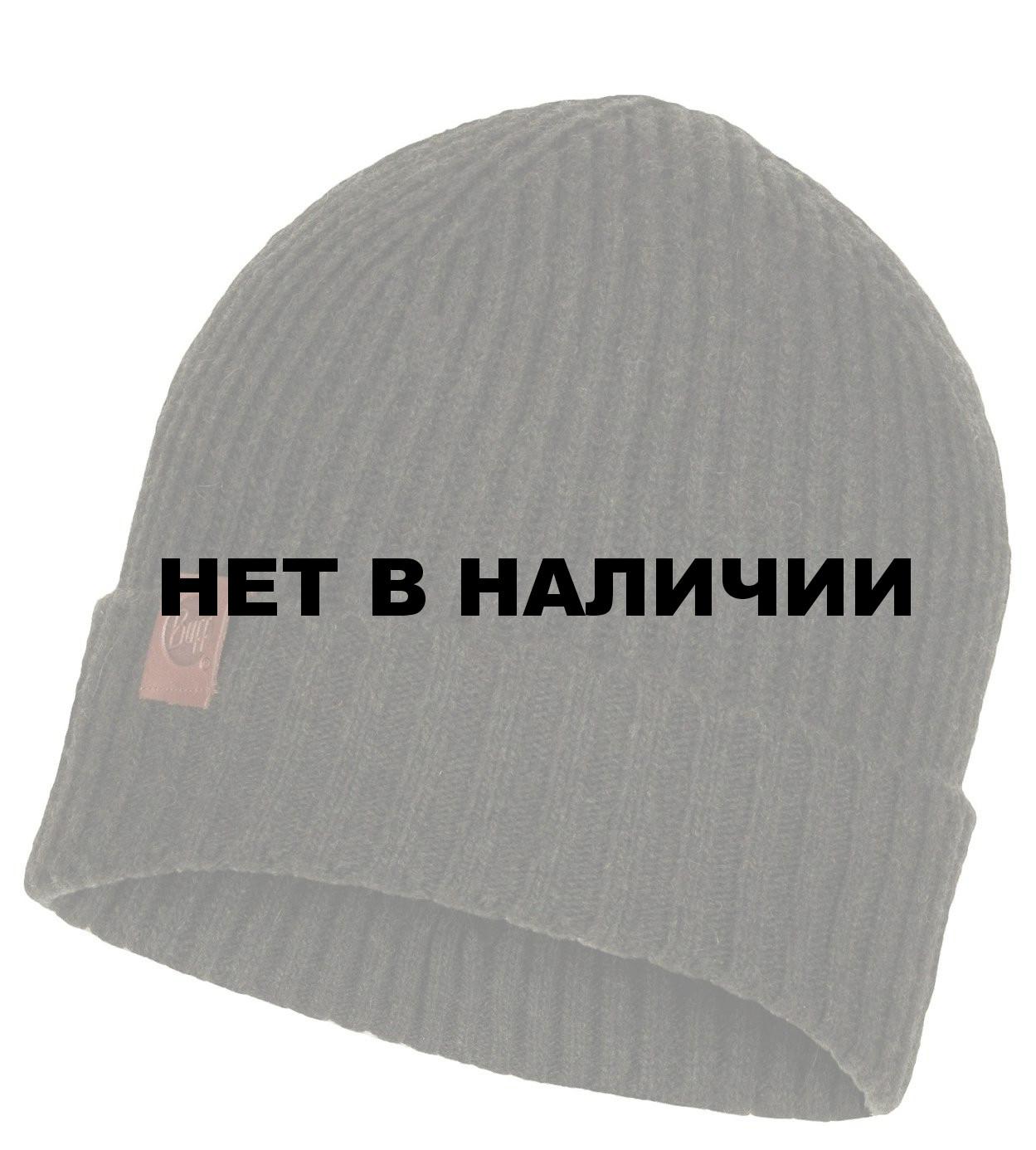 black Buff Tech Knitted Hat Windstopper Tech Logo black