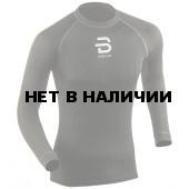 Футболка с длинным рукавом беговая Bjorn Daehlie 2017-18 Shirt Compete LS Black (US:XL)