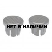 Грипсы BBB заглушки на руль, бокс 250 шт., carbon (BHT-92)