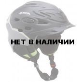 Зимний Шлем Alpina SCARA L.E. black-green silk mat (см:52-56)