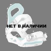 Сноуборд крепления NIDECKER 2017-18 ELA SERIES WHITE