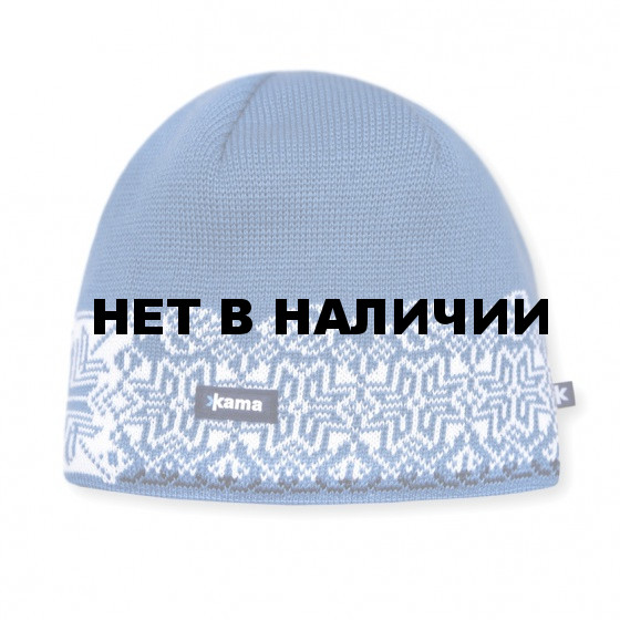 Шапка Kama AW10 light blue