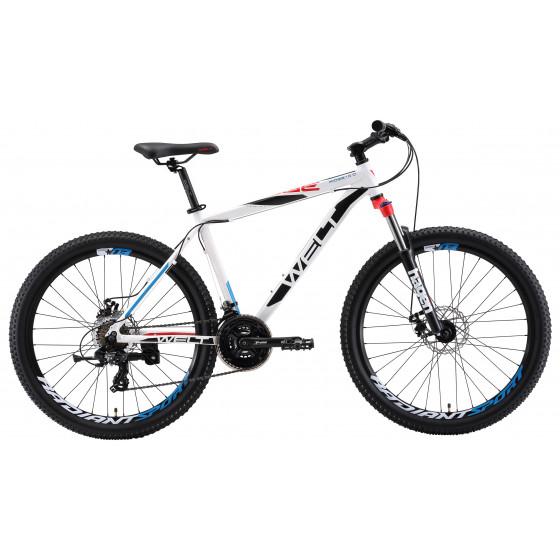 Велосипед Welt 2018 Ridge 1.0 D matt white/black/red (US:S)