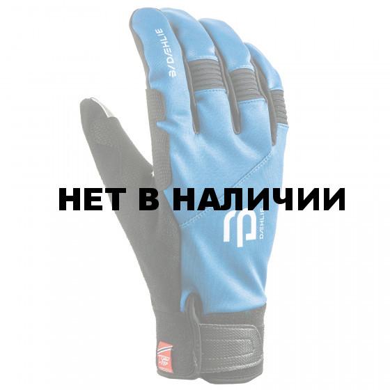 Перчатки беговые Bjorn Daehlie 2017-18 Glove Symbol 2.0 Methyl Blue