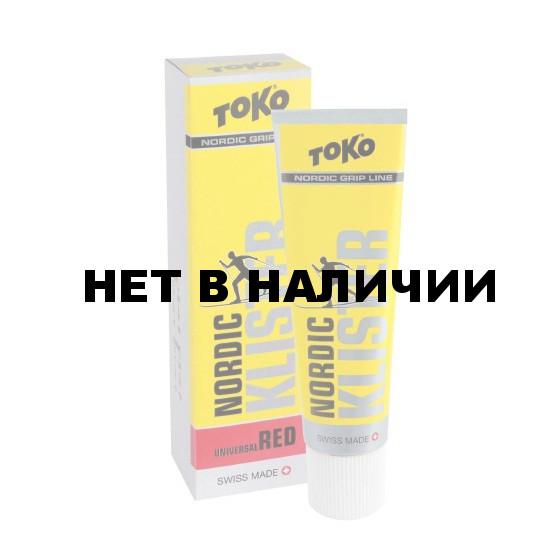 Клистер TOKO Grip Line Nordic Klister (красная, -1С/-8С, 55 гр.)