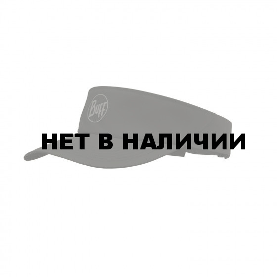 Кепка BUFF VISOR R-SOLID BLACK