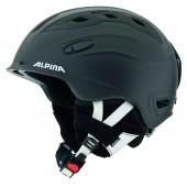 Зимний Шлем Alpina SNOWMYTHOS black-silk matt