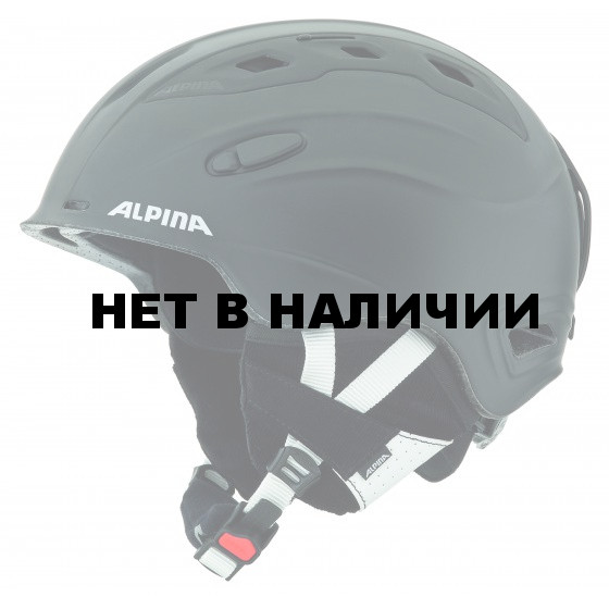 Зимний Шлем Alpina SNOWMYTHOS black-silk matt