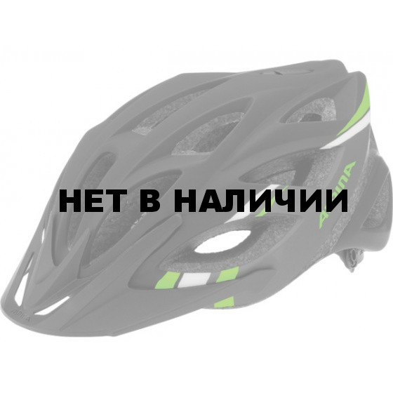 Летний шлем ALPINA Skid L.E. 2.0 black-darkgrey-green