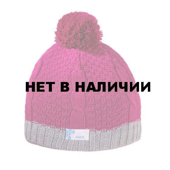 Шапка Kama 2016-17 B69 pink