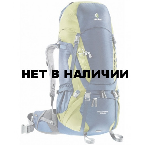 Рюкзак Deuter 2016-17 Aircontact 55 + 10 midnight-moss
