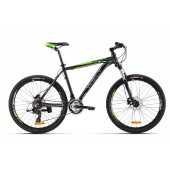 Велосипед Welt Ridge 1.0 HD 2016 matt black/green