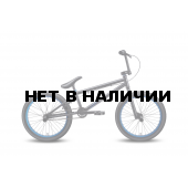 Велосипед Welt BMX Freedom 2016 matt black/blue anodized
