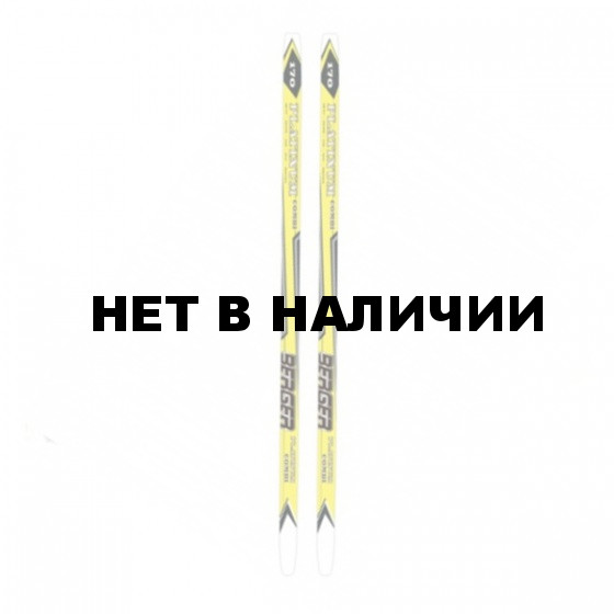 Беговые лыжи KARJALA 2014-15 BERGER wax 150 см желтый