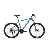 Велосипед Welt Ridge 2.0 D 2017 matt grey/blue/orange