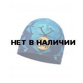Шапка BUFF MICROFIBER REVERSIBLE HAT HELIX OCEAN