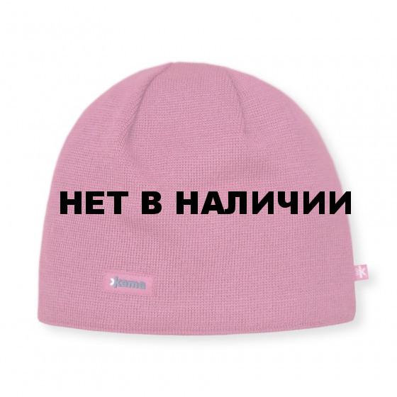 Шапка Kama AW19 pink