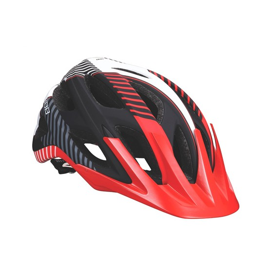 Летний шлем BBB Nerone matt black red (BHE-68)