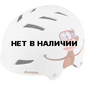 Велошлем Alpina 2018 Alpina Park jr. white monkey