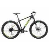 Велосипед Welt 2018 Rockfall 1.0 SE + mat violet/acid green