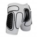 Защитные шорты BIONT Экстрим Плюс с закрытым пластиком 16-20мм Белый (US:XXL)