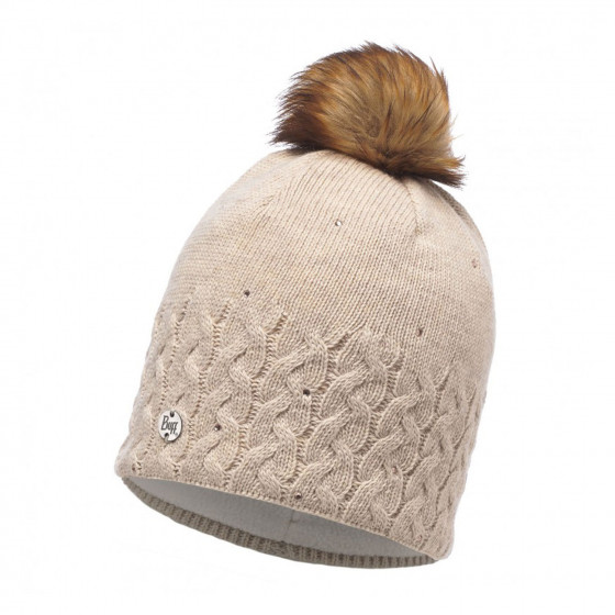 Шапка BUFF KNITTED & POLAR HAT ELIE BEIGE (US:one size)