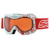 Очки горнолыжные Salice 601DAD WHITE-RED/ORANGE