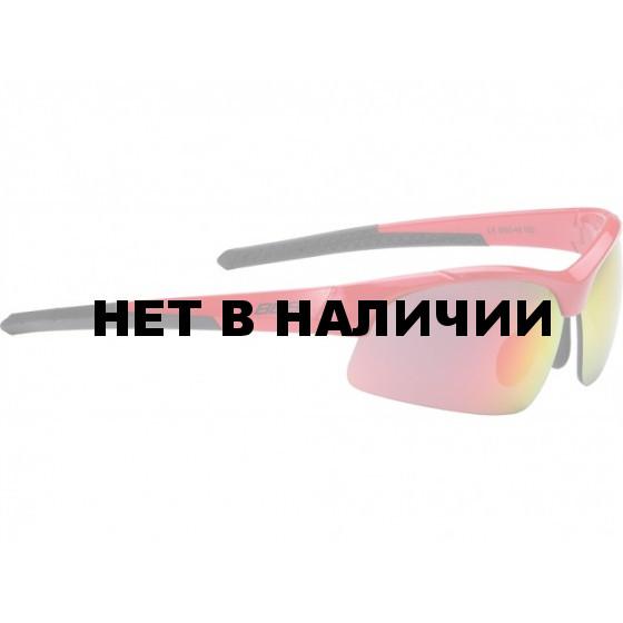 Очки солнцезащитные BBB Impress Small PC smoke red lenses блестящий красный (BSG-48)