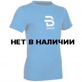 Футболка беговая Bjorn Daehlie 2018 T-Shirt Focus Jr Blue