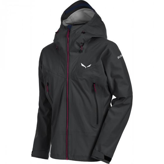 Куртка для активного отдыха Salewa 2017-18 ORTLES GTX STRETCH M JKT black out
