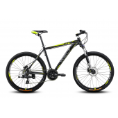 Велосипед Welt Ridge 2.0 HD 2016 matt black/yellow