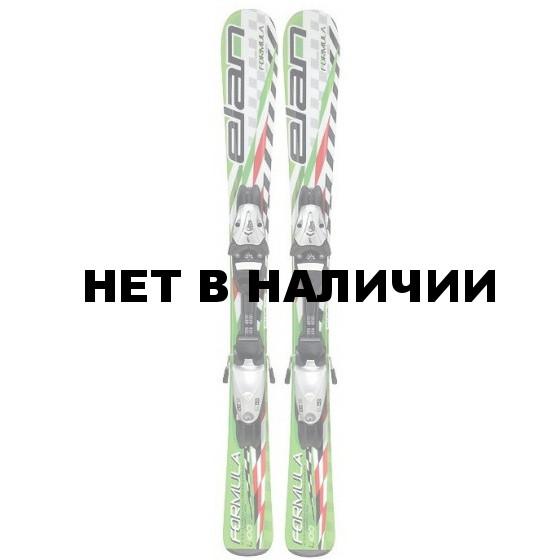 Горные лыжи с креплениями Elan 2017-18 FORMULA GREEN SPORT QS EL 4.5