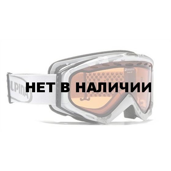 Очки горнолыжные Alpina Turbo Q white_Q S1
