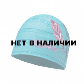 Шапка BUFF MICROFIBER & POLAR HAT JUNIOR FEATHERS POOL (US:one size)