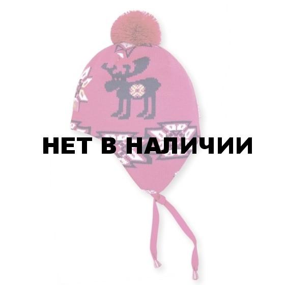 Шапка Kama BW16 pink