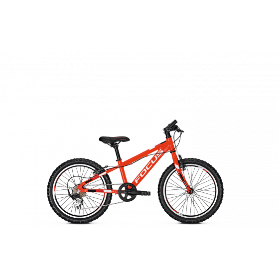 Велосипед FOCUS 2018 RAVEN ROOKIE 24 RIGID red