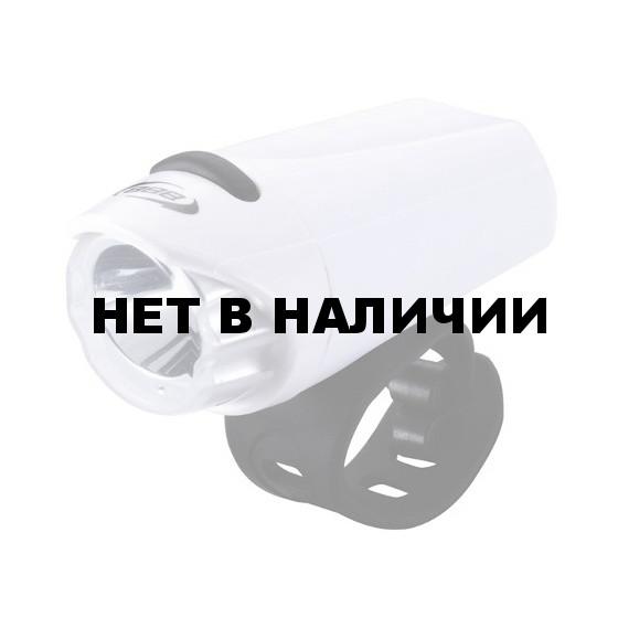 Фонарь передний BBB EcoBeam 0.2W with strap 3x AAA white/black (BLS-75)