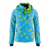 Куртка горнолыжная MAIER 2015-16 0616 Flower blue/green allover