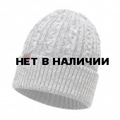 Шапка BUFF KNITTED HAT BRAIDY GREY
