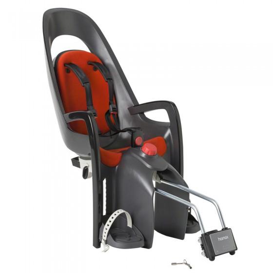 Детское кресло HAMAX CARESS W/LOCKABLE BRACKET серый/красный