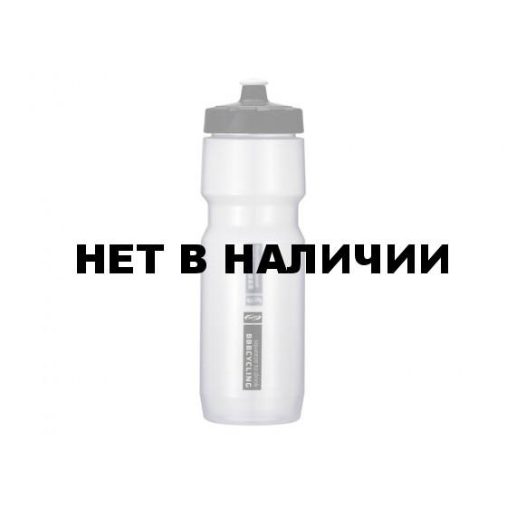 Фляга вело BBB 750ml. CompTank прозрачный/белый (BWB-05)