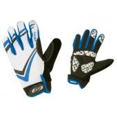 Перчатки велосипедные BBB AirZone white blue (BBW-30_white blue)