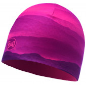 Шапка BUFF MICROFIBER REVERSIBLE HAT SOFT HILLS PINK FLUOR (US:one size)