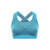 Топ ACCAPI 2017-18 SKIN TECH BRASSIERE turquoise black (US:XS-S)