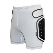 Защитные шорты BIONT Экстрим с открытым пластиком 8-10мм Белый